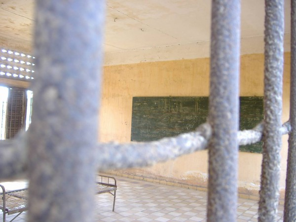 An ex-classroom used for execution