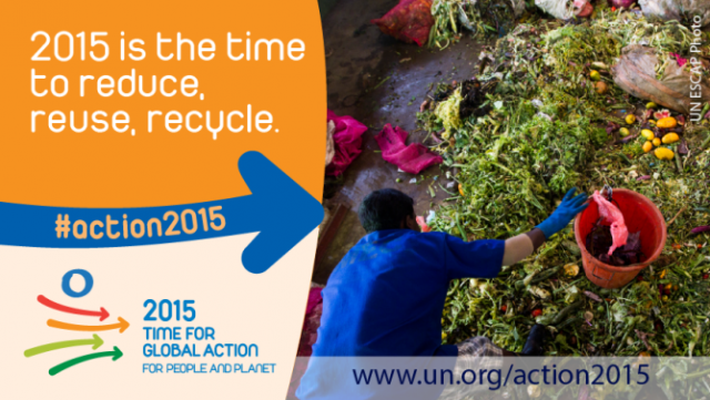 2015 is the time to reduce, reuse, recycle