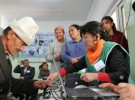 キルギスの選挙支援