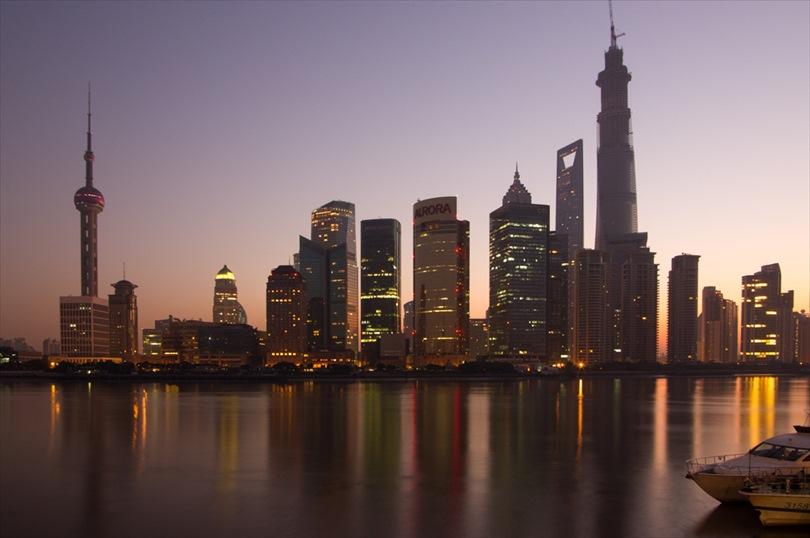 Photograph: Skyline before sunrise