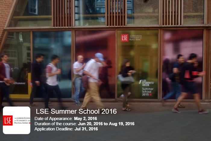 LSE Summer School 2016