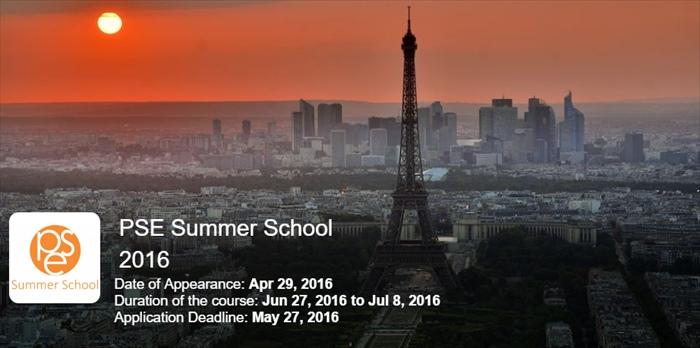PSE Summer School