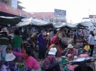 A market in Battambang