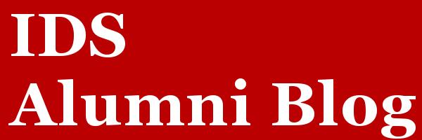 IDS Alumni Blog