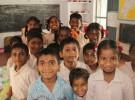 Children at the primary school in Melmayil village, Vellore, Tamil Nadu