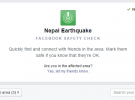 Facebook Starts Safety Check for Nepal Earthquake