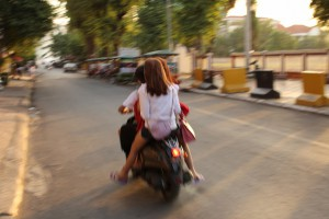 Moto going Fast, Phnom Penh