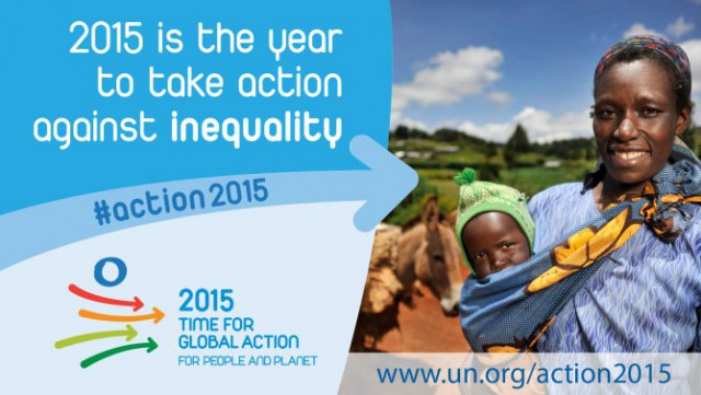 2015 is the year to take action against inequality
