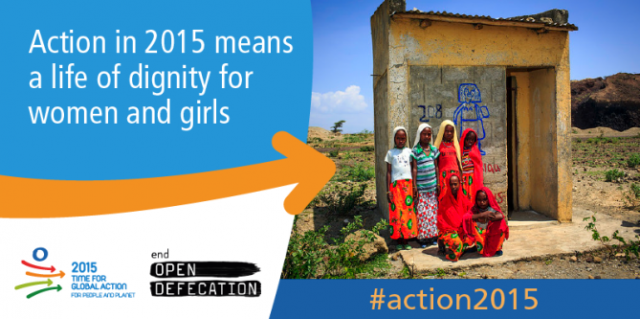 Action in 2015 means a life of dignity for women and girls
