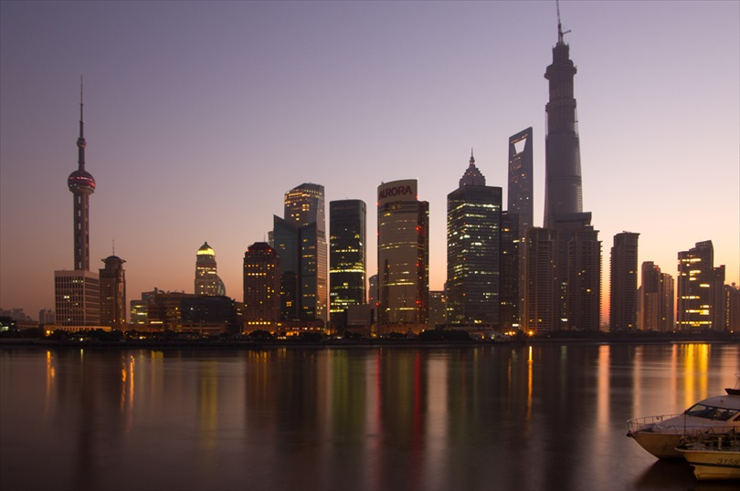 Photograph: Skyline before sunrise