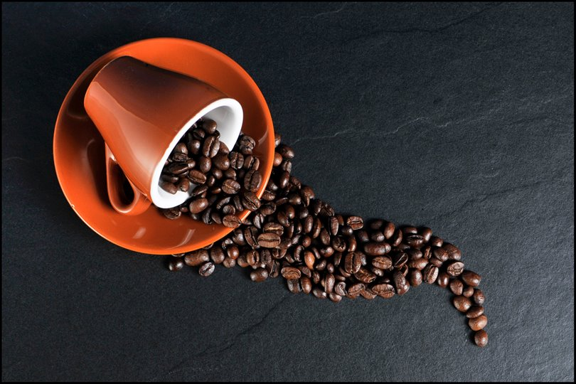 Coffee Beans, Cup