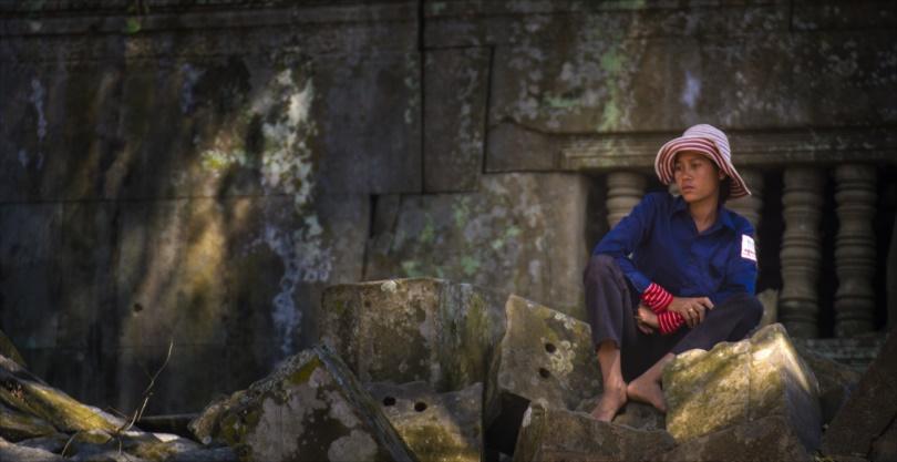 Woman, Cambodia